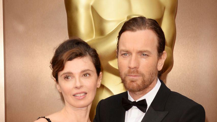 Ewan McGregor und Eve Mavrakis bei den Oscars 2014
