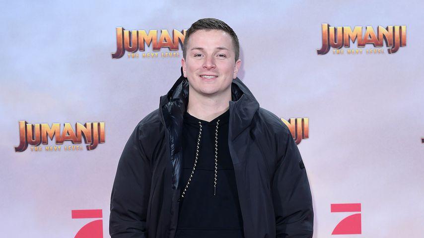 """Ex-""""Wer wird Millionär?""""-Kandidat Aaron Troschke bei der """"Jumanji: The Next Level""""-Premiere, 2019"""