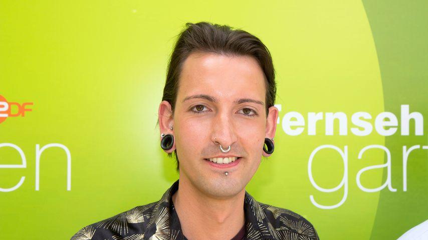 Fabian Kahl beim ZDF Fernsehgarten, Juni 2019