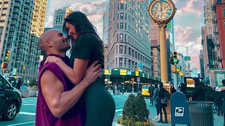 Fabian Nickel und Ziania Rubi in New York