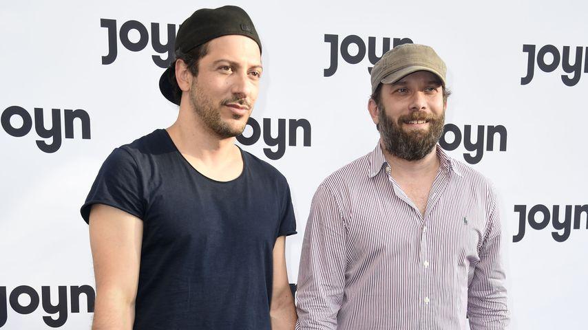 Fahri Yardim und Christian Ulmen beim Launch-Event von Joyn, Juni 2019
