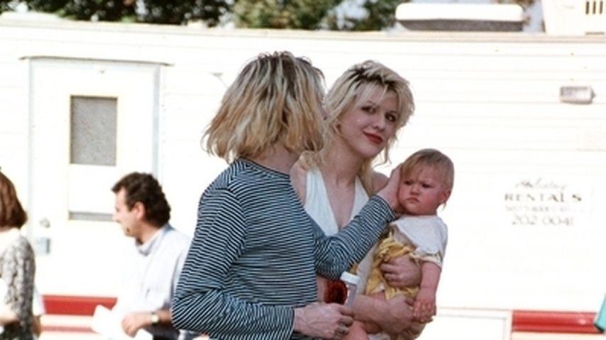 Courtney Love und Kurt Cobain