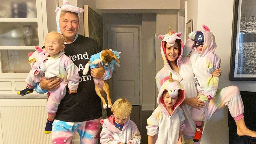 Familie Baldwin an Halloween 2019