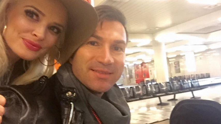 Süßes Familienfoto! Daniela Katzenberger grüßt ihre Fans