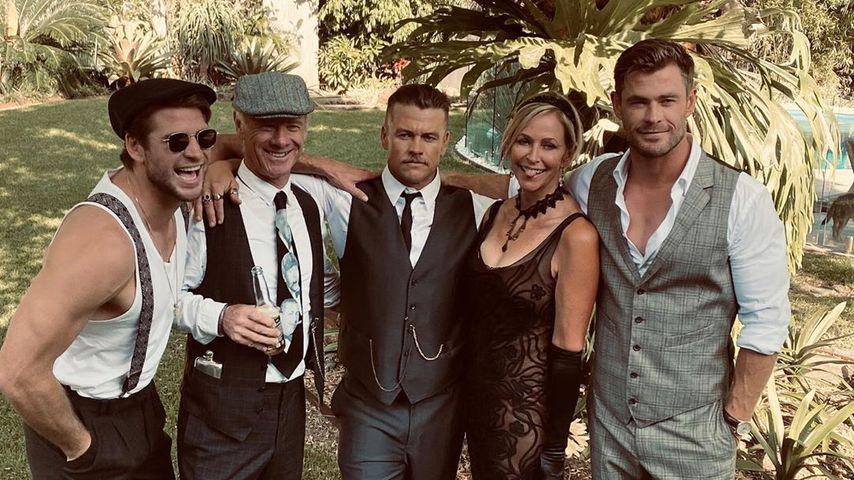 Familie Hemsworth im November 2020