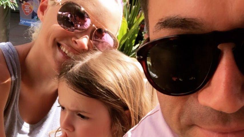 Daniela Katzenberger mit Tochter Sophia und Ehemann Lucas Cordalis