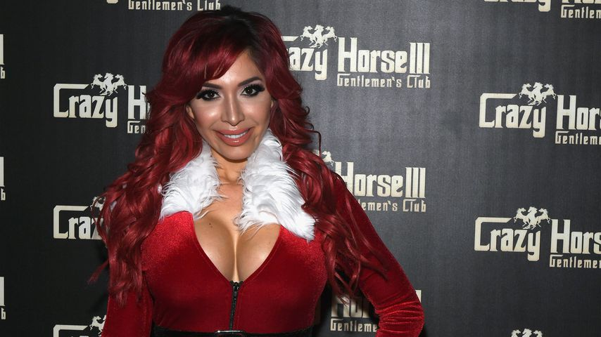 Farrah Abraham auf einer Party im Crazy Horse III Gentlemen's Club in Las Vegas