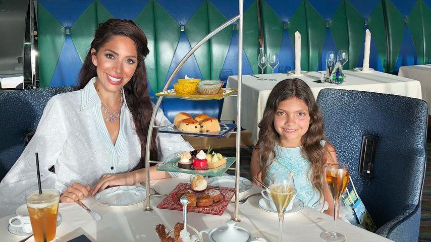 Farrah Abraham und ihre Tochter Sophia im Burj Al Arab