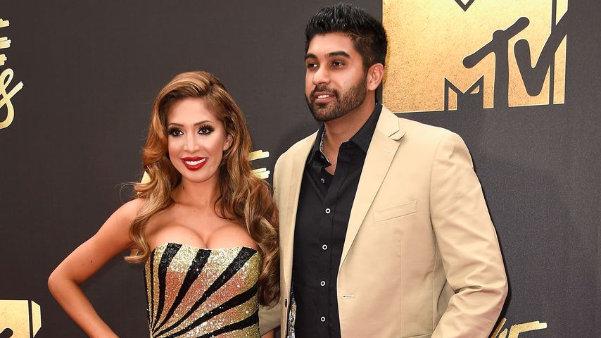 "Farrah Abraham und Simon Saran bei den ""MTV Movie Awards 2016"""