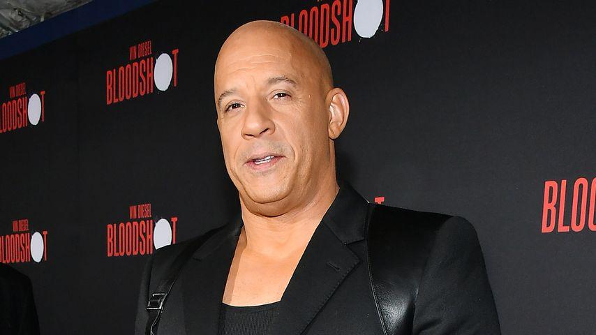 """""""Fast & Furious""""-Star Vin Diesel, 2020"""