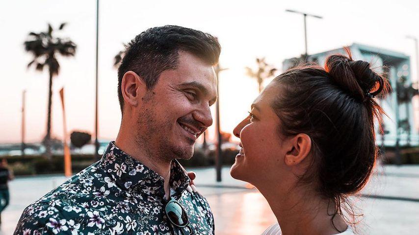 Fata Hasanović und ihr Freund Izet im Februar 2020 in Dubai
