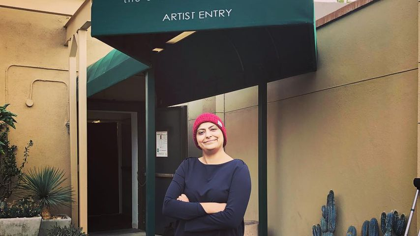 Fatima Ali vorm Studio Ellen DeGeneres