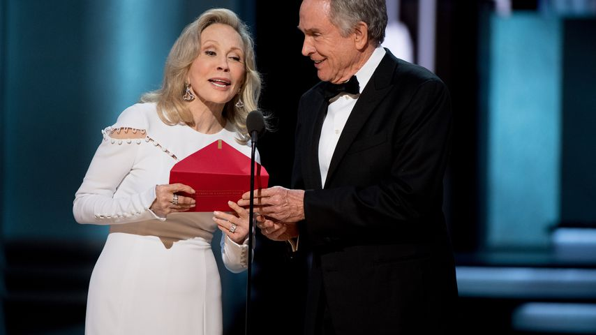 Faye Dunaway und Warren Beatty bei den Oscars 2017