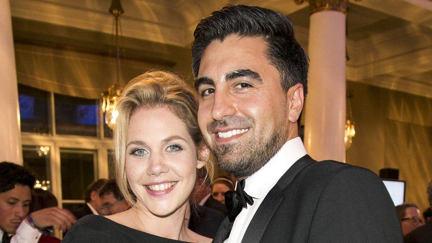 Felicitas Woll und Emrah Karacok bei der Verleihung des Bayerischen Fernsehpreises in München