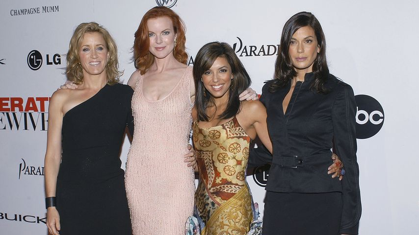 "Felicity Huffman, Marcia Cross, Eva Longoria und Teri Hatcher, ""Desperate Housewives""-Premiere 2004"