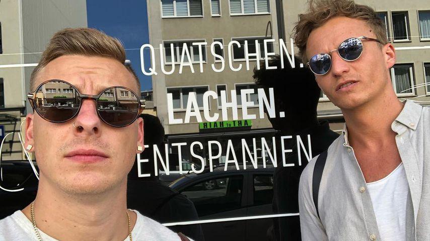 Felix Lobrecht und Tommi Schmitt