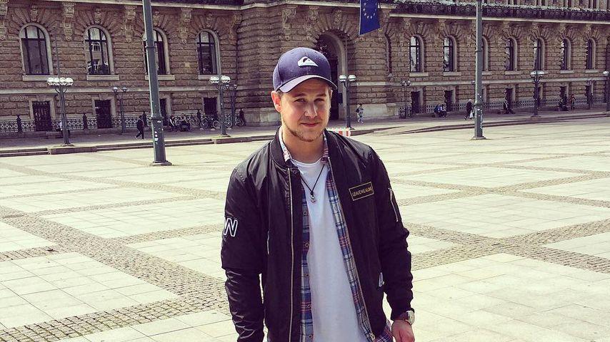 Süße Posts: Felix van Deventer von Vaterglück überwältigt!
