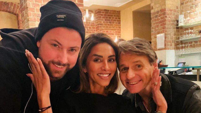 Foto mit Felix & Wolfgang: Sabrina Setlur bald bei GZSZ?