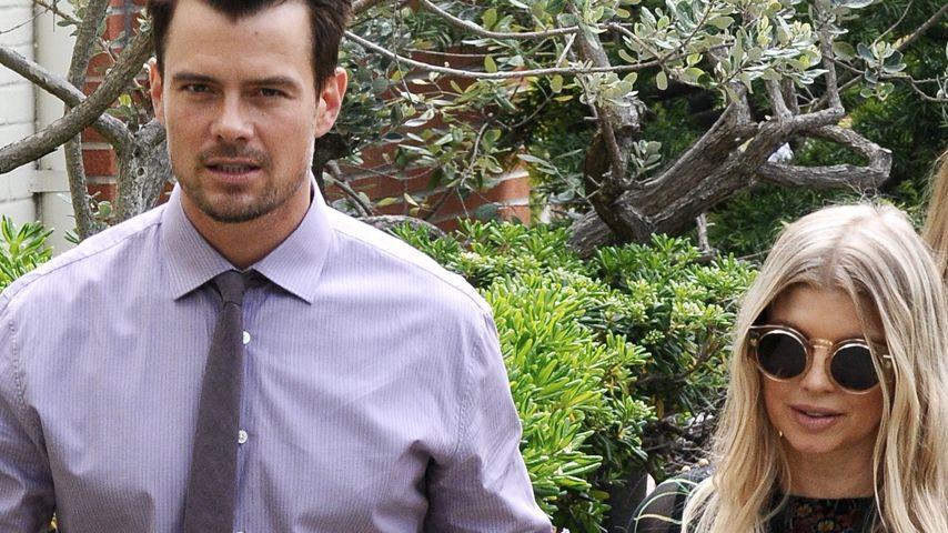 Fergie: Josh Duhamel singt ihrem Babybauch vor