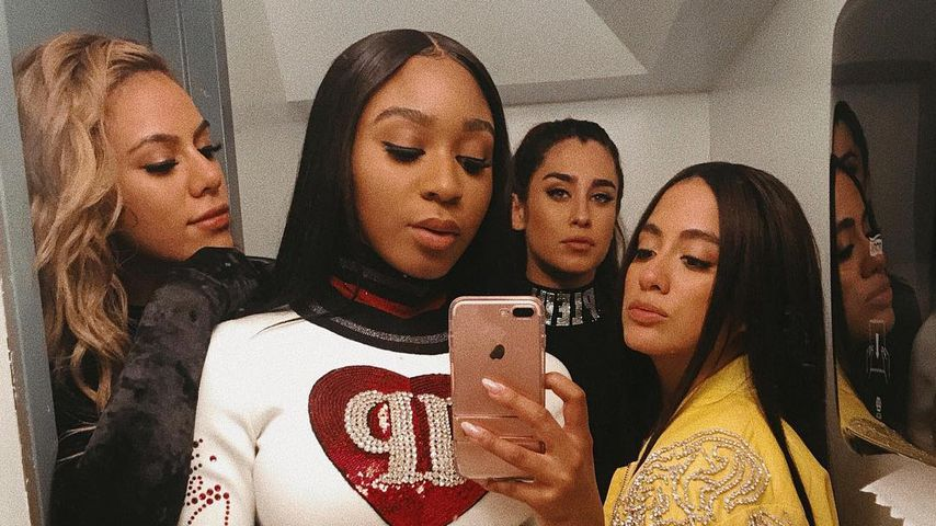Normani Kordei (zweite von links) mit restlichen Fifth Harmony-Mitgliedern