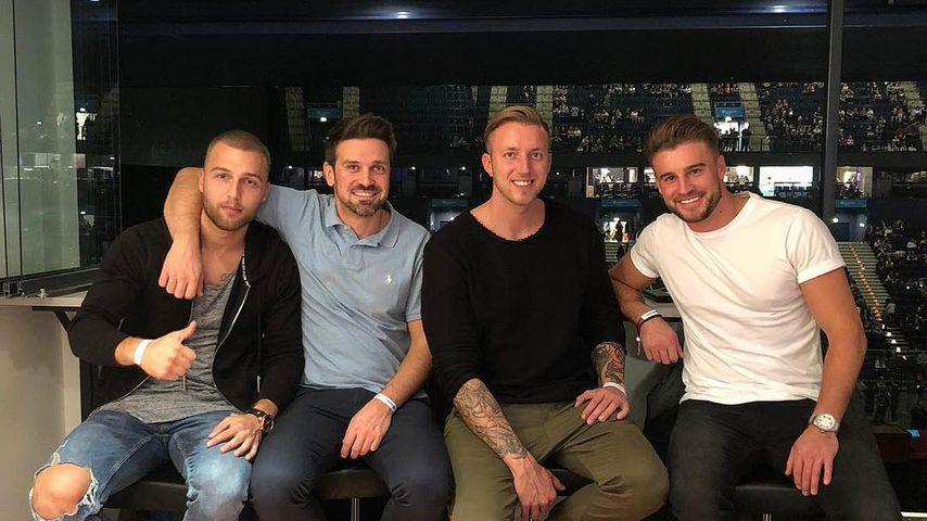 Filip Pavlovic, Stefan Gritzka, Chris Kunkel und Alexander Hindersmann
