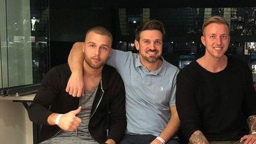 Filip Pavlovic, Stefan Gritzka und Chris Kunkel