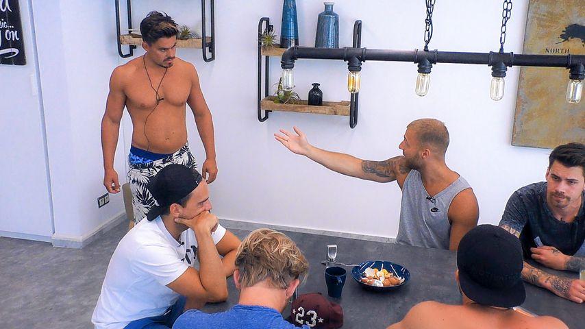 """""""Die Bachelorette""""-Kandidaten Manuel, Filip, Brian, Alexander, Jan und Sören"""
