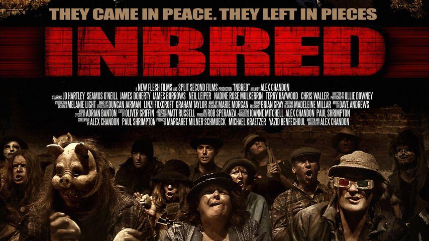 """Film-Poster zum Horror-Streifen """"Inbred"""""""