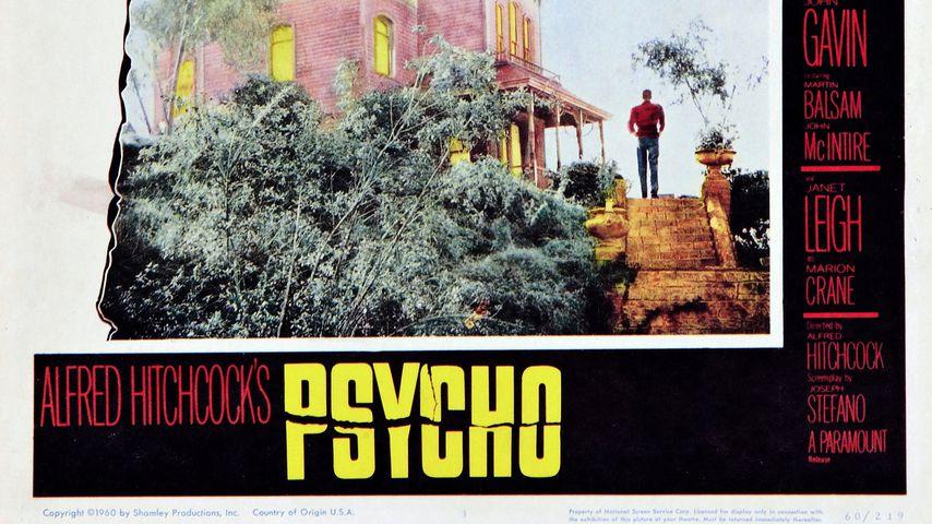 "Filmplakat zu ""Psycho"", 1960"
