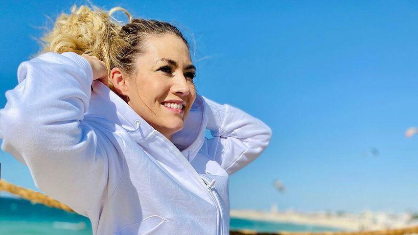 Fiona Erdmann im Januar 2021 in Dubai
