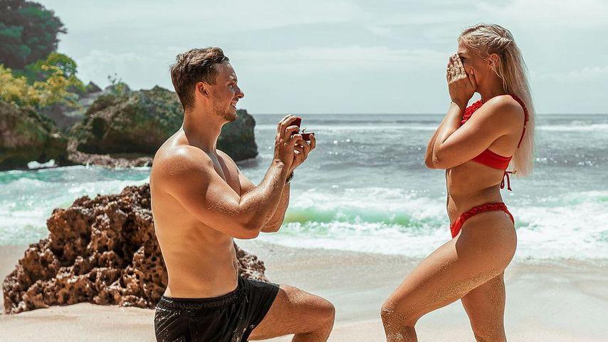 FitnessOskar, Webstar und seine Frau Mandy auf Bali, 2020