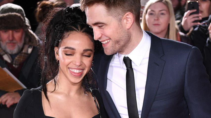 """FKA Twigs und Robert Pattinson bei der """"The Lost City Of Z""""-Premiere in London"""