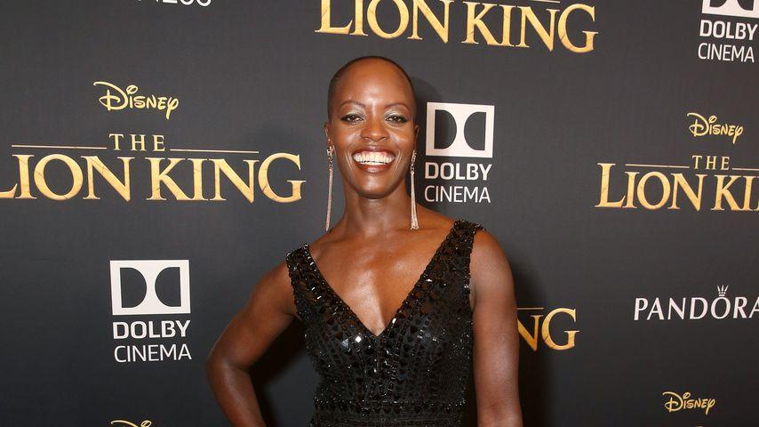Florence Kasumba 2019 in Hollywood