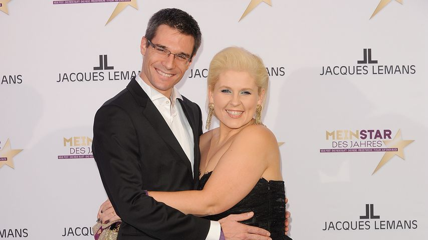 Florent Raimond und Maite Kelly im Februar 2012