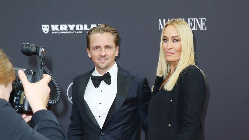 Florian Fischer und Sarah Connor im November 2019 in Baden-Baden