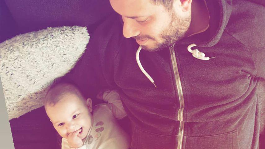 Florian Köster und Tochter Anastasia Sophie