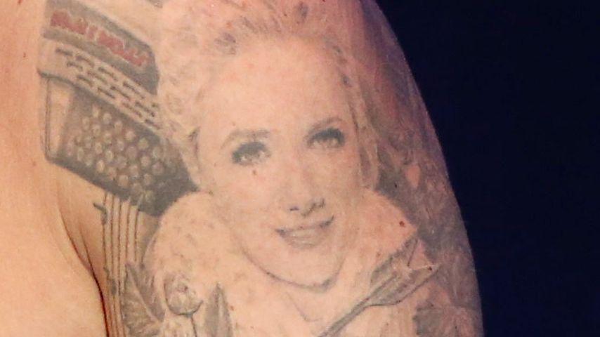 Florian Silbereisens Tattoo von Helene Fischer