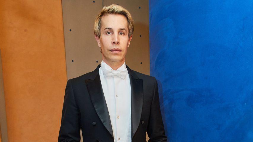 Florian Wess beim Sekt- und Austernempfang zum Opernball 2018 in Wien
