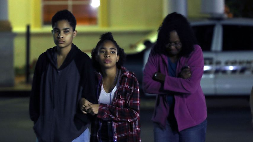 Schüler nach dem Amoklauf in Florida, Februar 2018