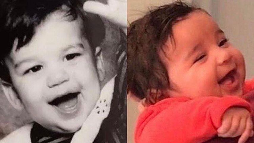 Süß: Rob Kardashian sah früher genauso aus wie Baby Dream!
