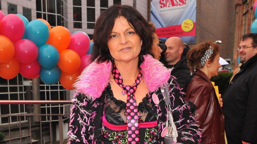 Fräulein Menke bei einer Musicalpremiere in Essen