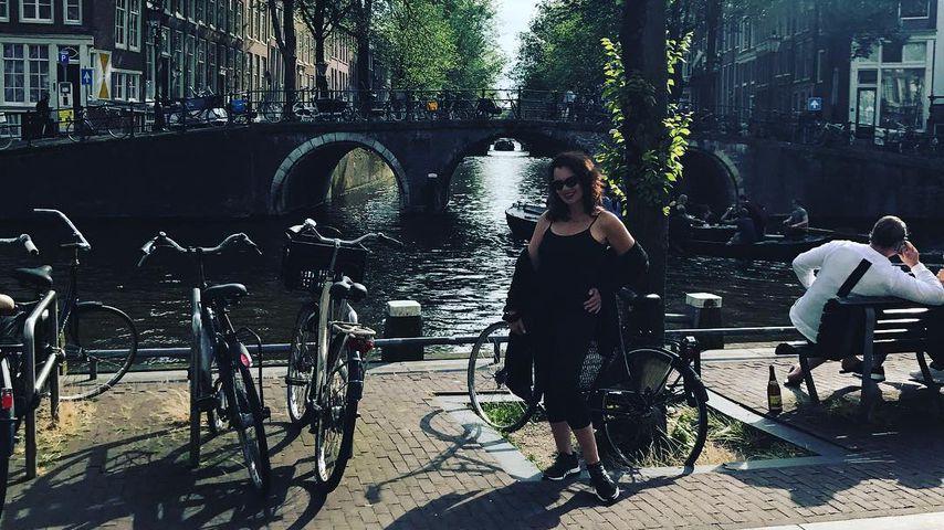 Fran Drescher in Amsterdam