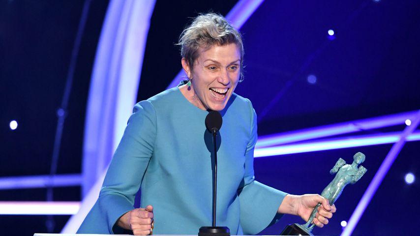 Frances McDormand bei den SAG Awards 2018