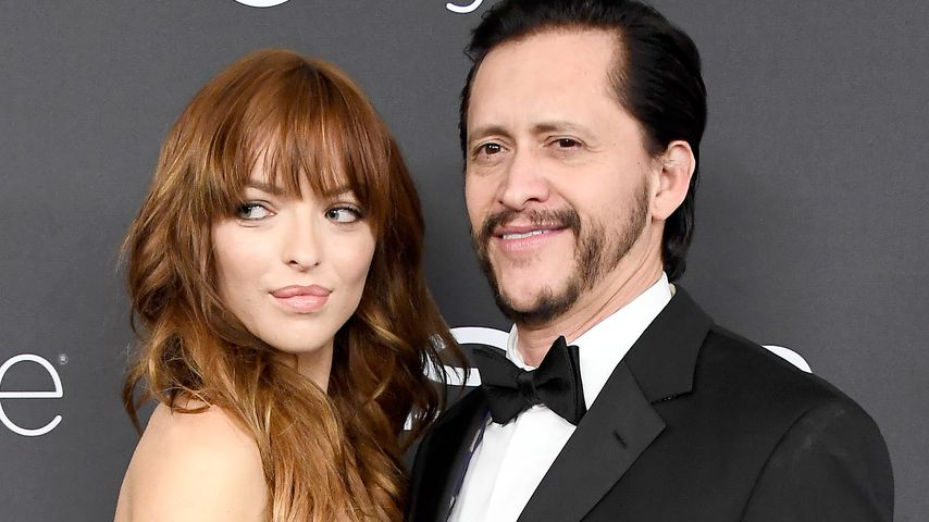 Francesca Eastwood und Clifton Collins Jr. 2017 in Beverly Hills