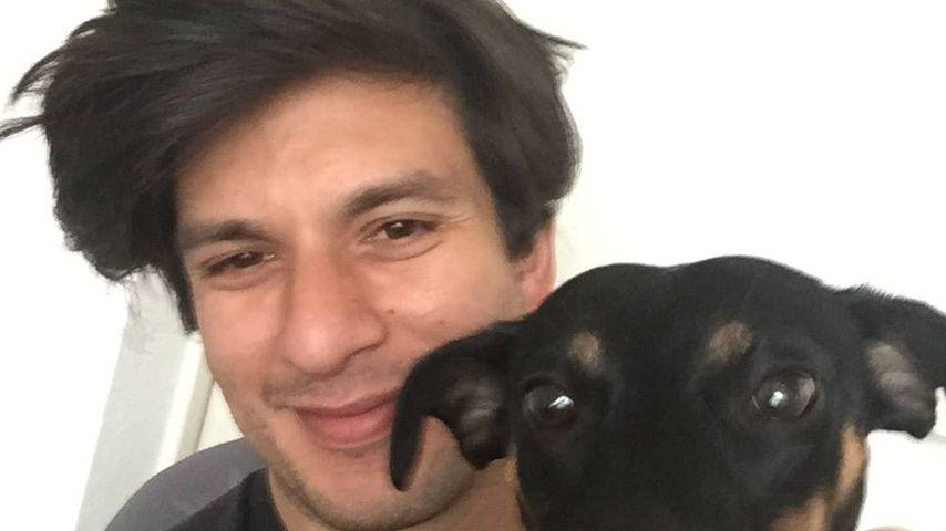 Francisco Medina mit seinem Hund