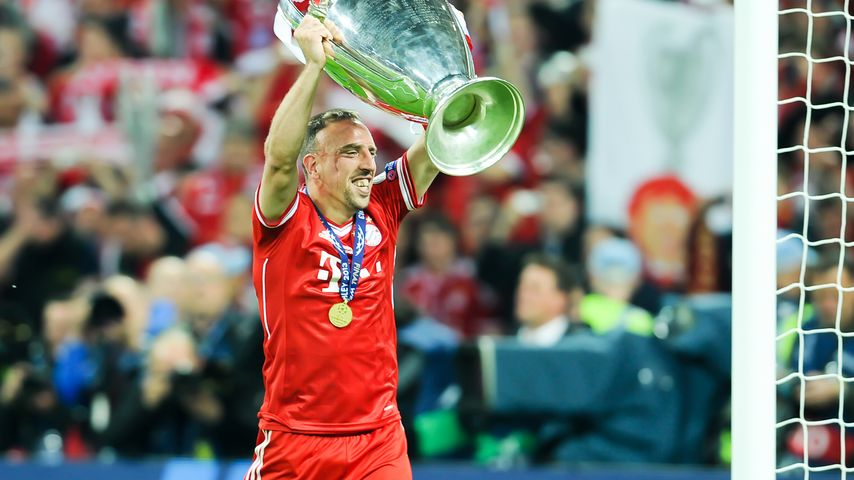 Treffer! Franck Ribéry ist Europas bester Kicker!