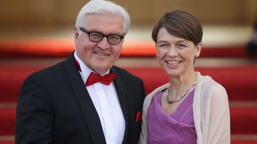 Frank-Walter Steinmeier mit Ehefrau Elke Büdenbender