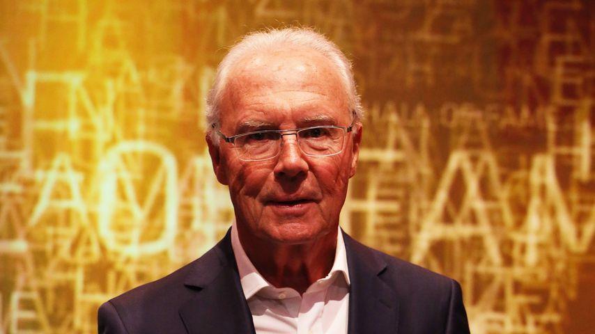 Franz Beckenbauer im April 2019