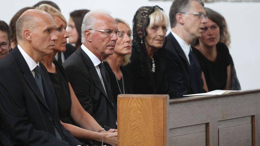 Franz Beckenbauer nimmt Abschied: Sohn Stephan beigesetzt!