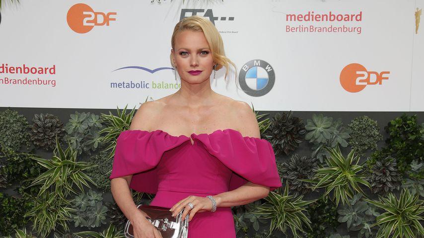 Franziska Knuppe beim Filmpreis 2019